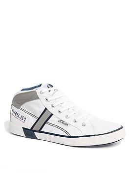 High Sneaker aus Textil von s.Oliver