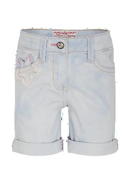 Jeansshorts mit Patch von s.Oliver
