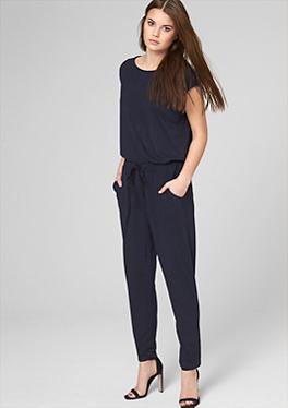bestel eenvoudig overalls jumpsuits voor dames in de s oliver online shop. Black Bedroom Furniture Sets. Home Design Ideas