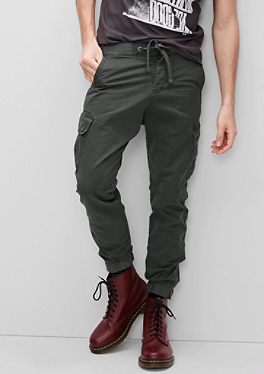 Jogging Pants im Cargo-Style von s.Oliver