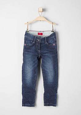 Kathy: Dunkelblaue Stretch-Jeans von s.Oliver