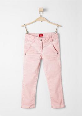 Kathy: Satin-Jeans mit Wascheffekt von s.Oliver