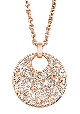 Kette mit Swarovski-Kristallen von s.Oliver