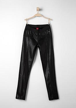 Leggings in glänzender Leder-Optik von s.Oliver