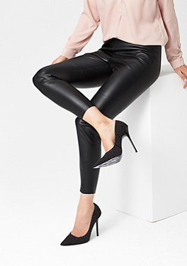 Leggings in Leder-Optik von s.Oliver