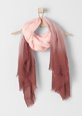 Leichter Dip Dye-Schal von s.Oliver