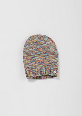 Mütze aus Melange-Garn von s.Oliver