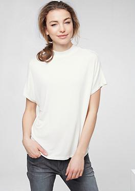 Oversize-Shirt mit Stehkragen von s.Oliver