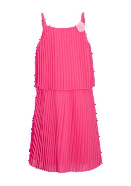 Plissiertes Chiffon-Kleid von s.Oliver