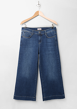 Regular: Denim-Culotte von s.Oliver