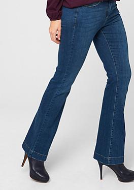 Regular: Flared Stretch-Jeans von s.Oliver