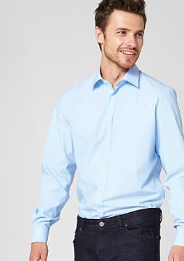 Regular:Fineliner-Hemd mit Belegstoffen von s.Oliver