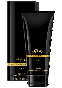 SELECTION MEN Luxury Shower Gel & Shampoo 200 ml von s.Oliver