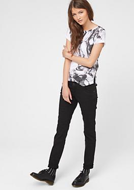 Shape Slim: Dunkle Stretch-Jeans von s.Oliver