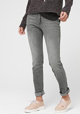 Shape Slim: Graue Stretch-Jeans von s.Oliver