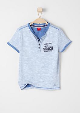 Shirt mit Doubleface-Optik von s.Oliver