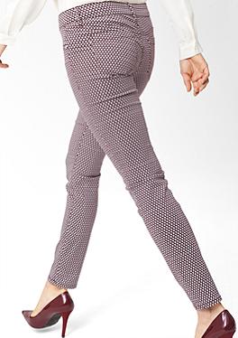 Sienna: Gemusterte Stretch-Jeans von s.Oliver