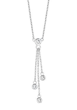 Silberkette mit Zirkonias von s.Oliver
