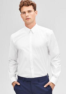 Slim: Stretchiges Hemd von s.Oliver