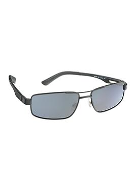 Sonnenbrille im Materialmix von s.Oliver