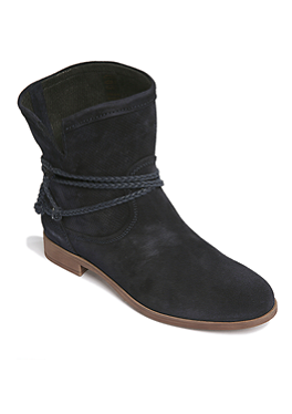 Suède schoenen met decoratieve rand van s.Oliver