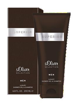 SUPERIOR Shower Gel & Shampoo von s.Oliver