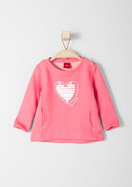Sweatshirt mit Applikationen von s.Oliver