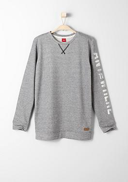 Sweatshirt mit bedrucktem Ärmel von s.Oliver