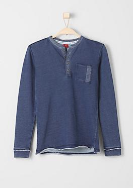 Sweatshirt Schrift-Print hinten von s.Oliver