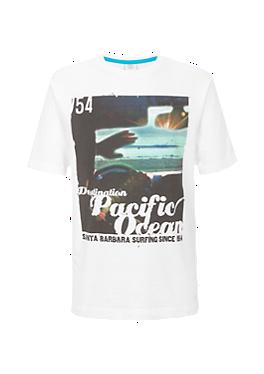 T-Shirt mit Fotoprint von s.Oliver