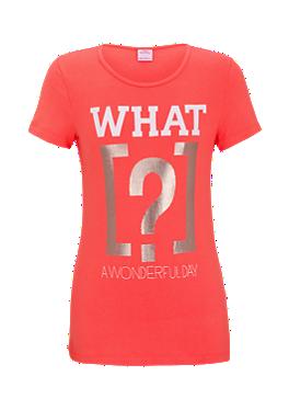 T-Shirt mit Frontprint von s.Oliver