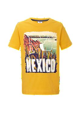 T-Shirt mit Mexico-Motiv von s.Oliver