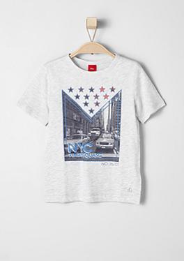 T-Shirt mit NYC-Frontprint von s.Oliver