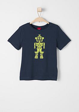 T-Shirt mit Roboter-Print von s.Oliver