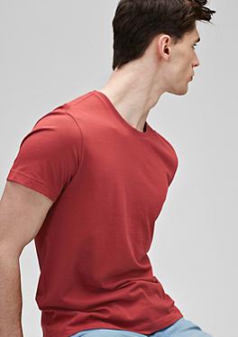 T-Shirt mit Rundhalsausschnitt von s.Oliver
