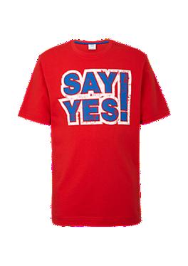 T-Shirt mit Statement-Print von s.Oliver
