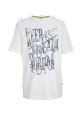 T-Shirt mit stylischer Schrift von s.Oliver