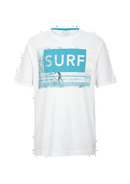 T-Shirt mit Surf-Print von s.Oliver