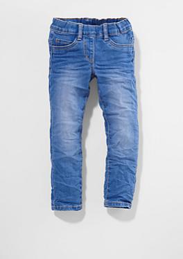 Tregging: Jeans mit Herz-Stitchings von s.Oliver