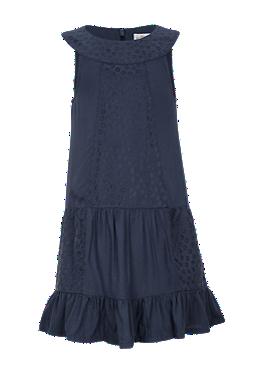 Viskose-Kleid mit Lochmuster von s.Oliver