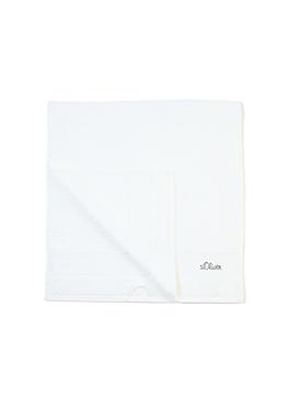 Zachte, absorberende handdoek van badstof van s.Oliver
