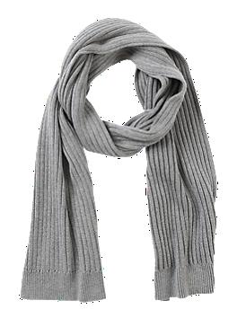 Zachte ribgebreide sjaal van s.Oliver
